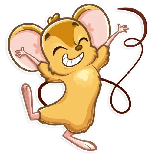 Arno the Mouse - Sticker 12