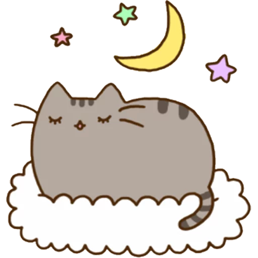 Pusheen 1 - Sticker 23