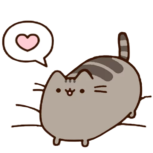 Pusheen 1 - Sticker 26