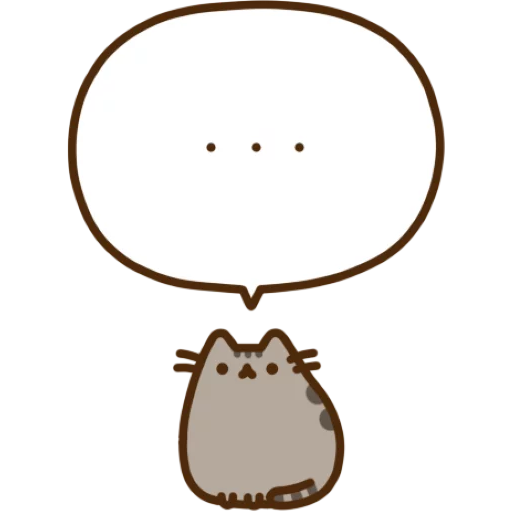 Pusheen 1 - Sticker 12