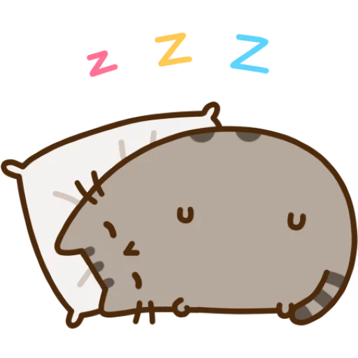 Pusheen 1 - Sticker 3