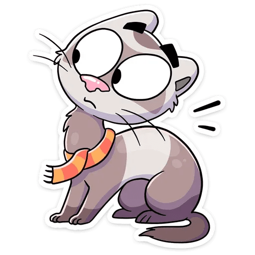 Vins the cat - Sticker 6