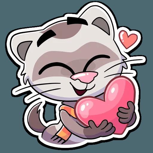 Vins the cat - Sticker 4