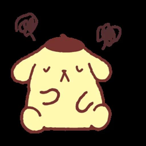 Pompompurin/1 - Sticker 5