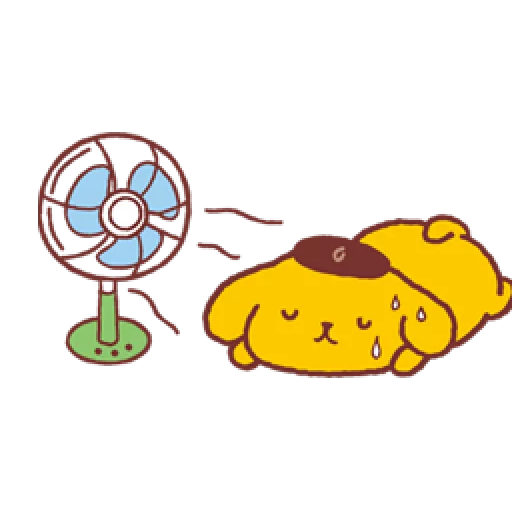 Pompompurin/1 - Sticker 7