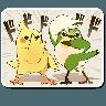 Bird - Tray Sticker