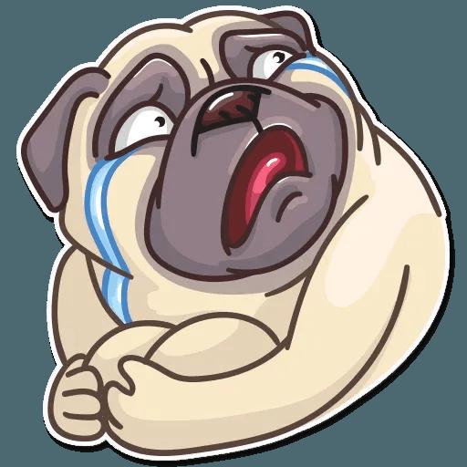 Pug Power - Sticker 29