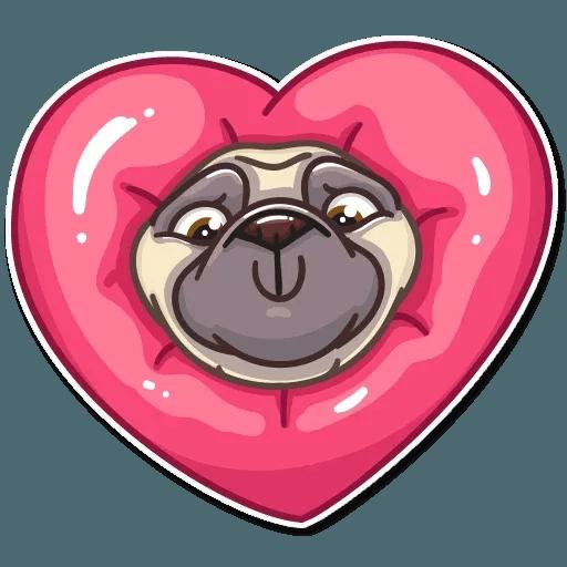Pug Power - Sticker 7