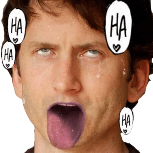 Todd Howard 2 - Tray Sticker