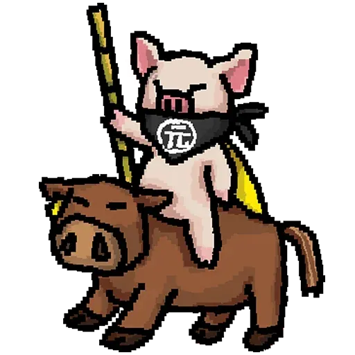 LIHKGPigDogCow - Sticker 1