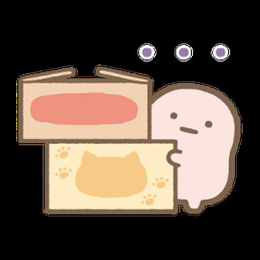すみっコぐらしの家族で使えるスタンプ 2 - Sticker 13