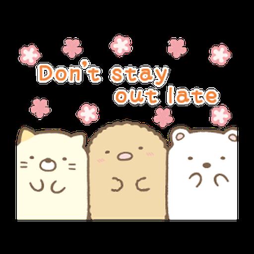 すみっコぐらしの家族で使えるスタンプ 2 - Sticker 14