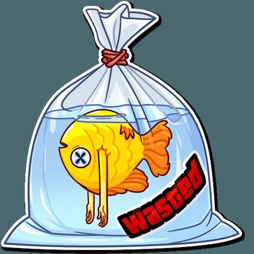 Peixinho - Tray Sticker