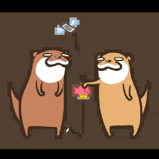 Otter Kotsumetti3.1 - Sticker 9