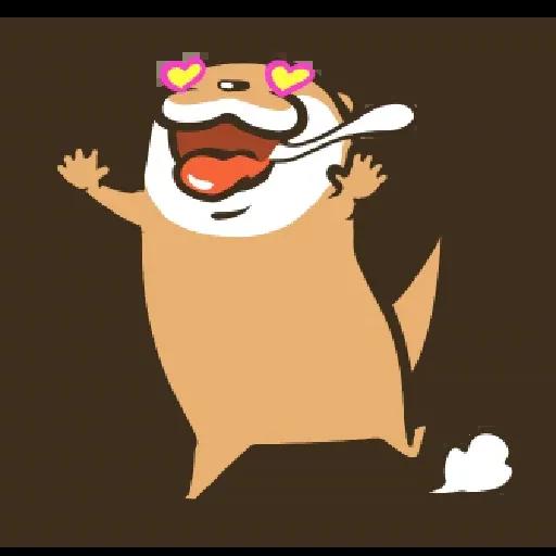 Otter Kotsumetti3.1 - Sticker 17