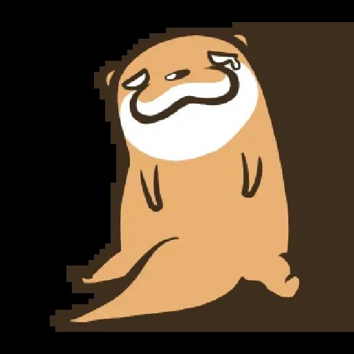 Otter Kotsumetti3.1 - Sticker 6