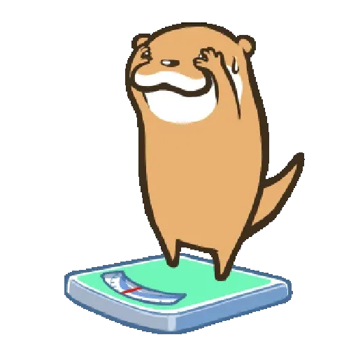 Otter Kotsumetti3.1 - Sticker 13