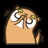 Otter Kotsumetti3.1 - Tray Sticker
