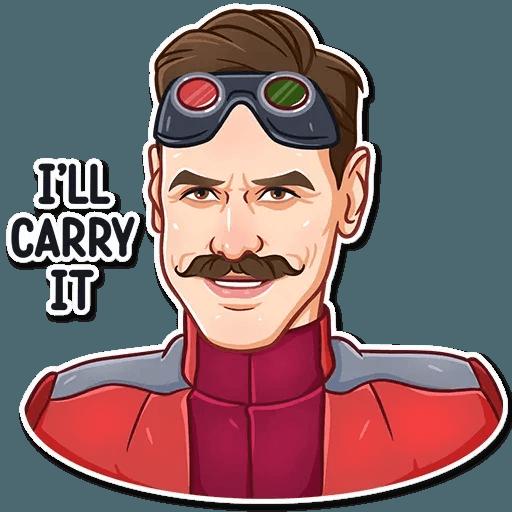 Jim Carry - Sticker 29