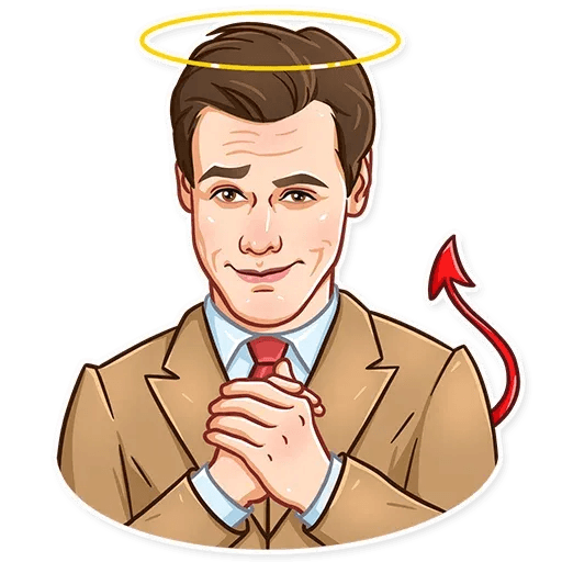Jim Carry - Sticker 11