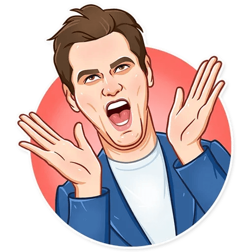 Jim Carry - Sticker 3