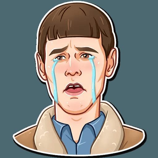 Jim Carry - Tray Sticker
