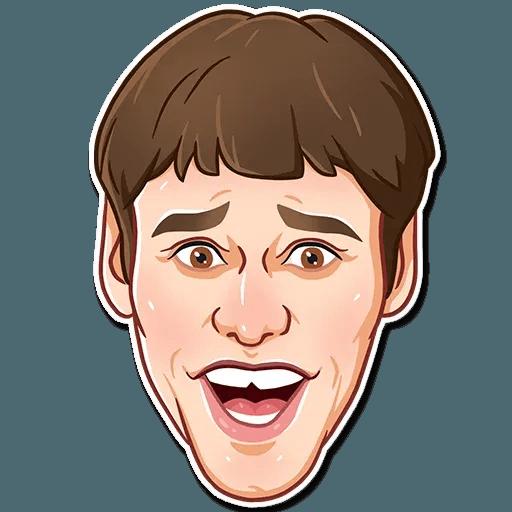 Jim Carry - Sticker 9