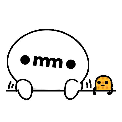 OMMO - 日常篇 - Sticker 2
