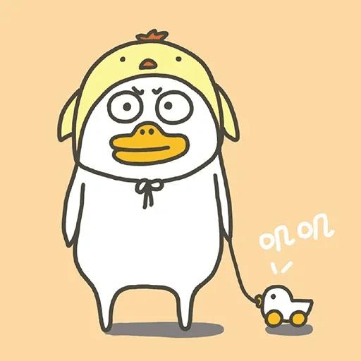 BH-duck01 - Sticker 11