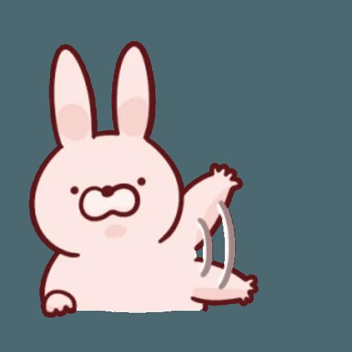 肉肉兔 1 - Sticker 7