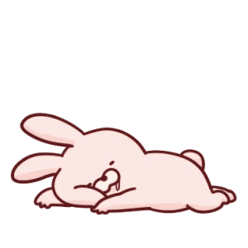 肉肉兔 1 - Sticker 18