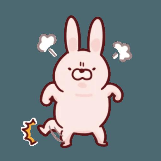 肉肉兔 1 - Sticker 10
