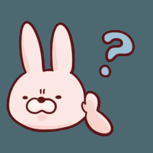 肉肉兔 1 - Sticker 5