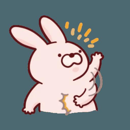 肉肉兔 1 - Sticker 14