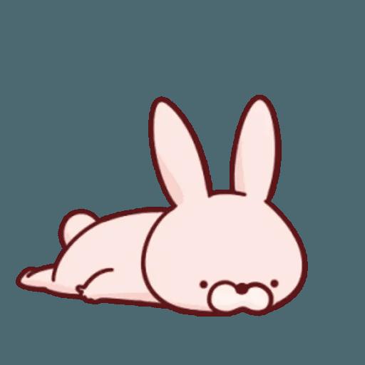 肉肉兔 1 - Sticker 20