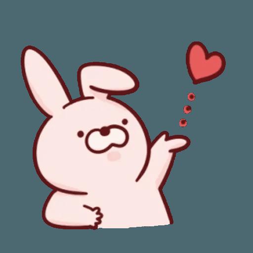 肉肉兔 1 - Sticker 16