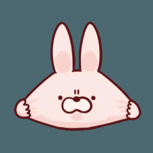 肉肉兔 1 - Sticker 3