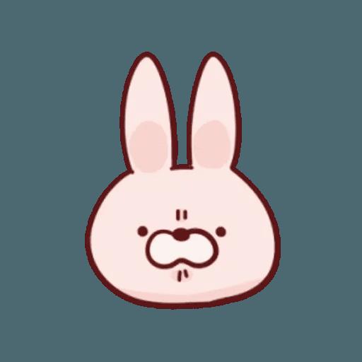 肉肉兔 1 - Sticker 1