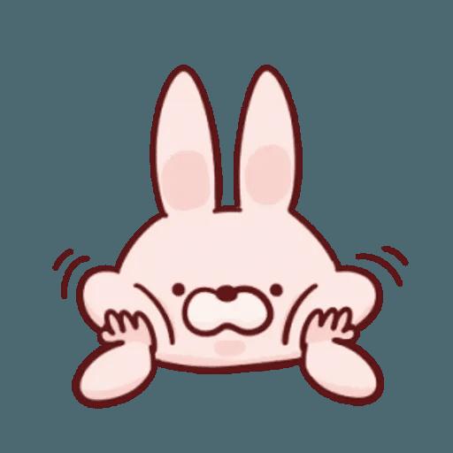 肉肉兔 1 - Sticker 2
