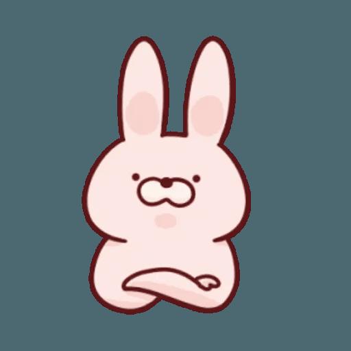 肉肉兔 1 - Sticker 6