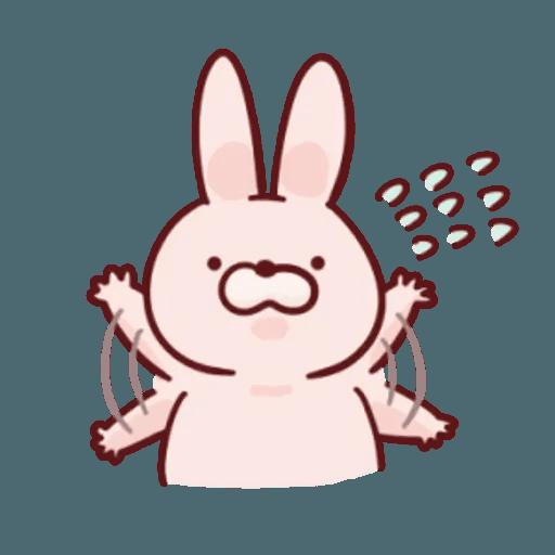 肉肉兔 1 - Sticker 11