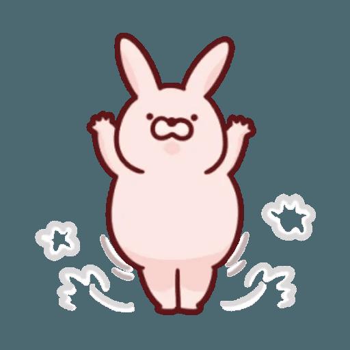 肉肉兔 1 - Sticker 8