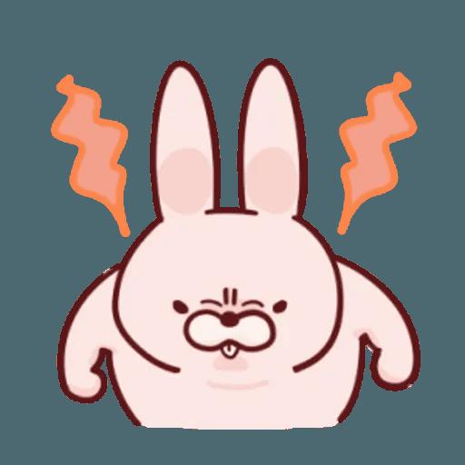 肉肉兔 1 - Sticker 12