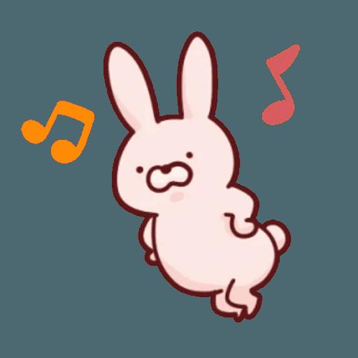 肉肉兔 1 - Sticker 9