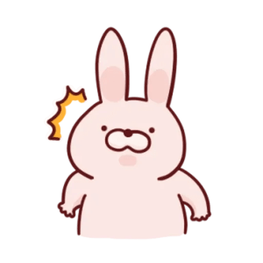 肉肉兔 1 - Sticker 15