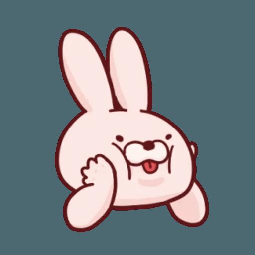 肉肉兔 1 - Sticker 4