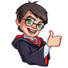 Harry Potter - Tray Sticker