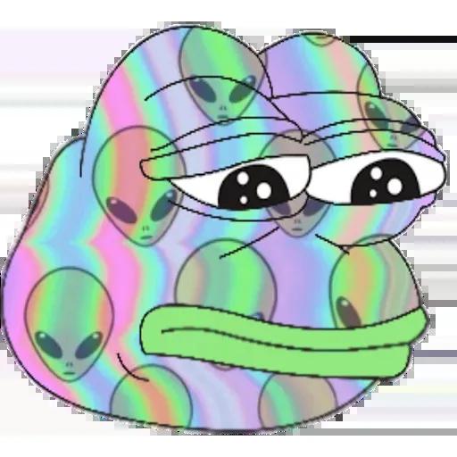 Pepe Galaxy - Sticker 15