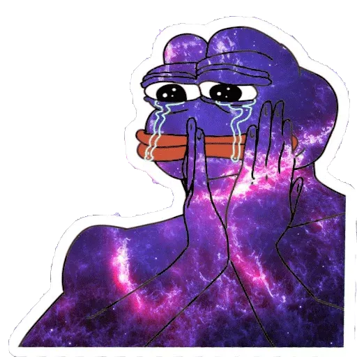 Pepe Galaxy - Sticker 29