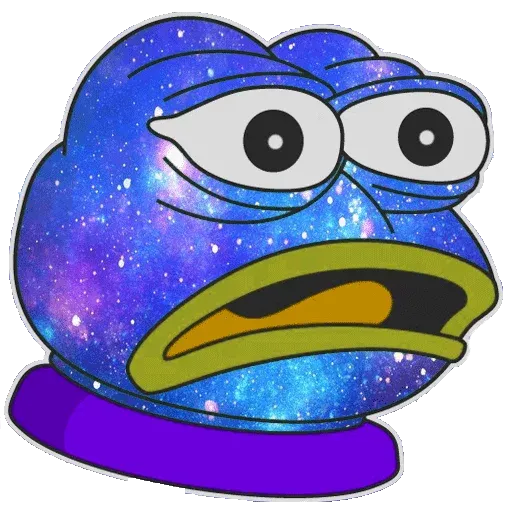 Pepe Galaxy - Sticker 24